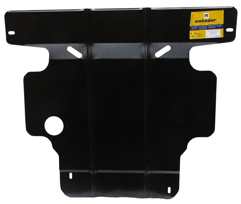 Защита картера двигателя, КПП Mazda Xedos 6 (CA) 1992-2000 V=1.6 (сталь 2 мм), MOTODOR01108