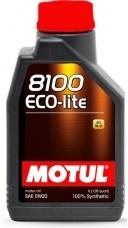 Моторное масло MOTUL 8100 Eco-lite, 0W-20, 1л, 101525