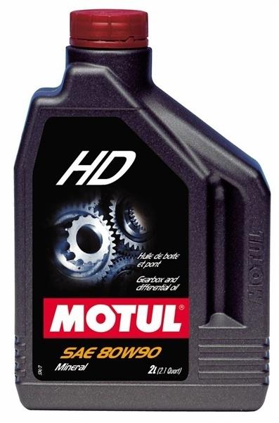 Масло трансмиссионное Motul HD, 80W-90, 2л, 100102
