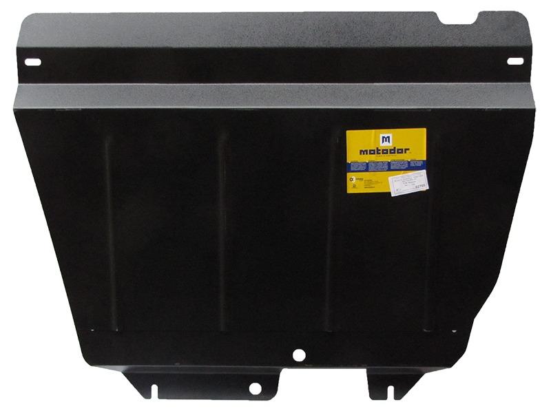Защита картера двигателя, КПП VW Sharan 1995-2010 V=1,8 1,9T 2,0 2,8 (сталь 2 мм), MOTODOR02705