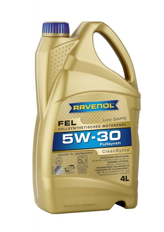 Моторное масло RAVENOL Fel, 5W-30, 4л, 4014835723498
