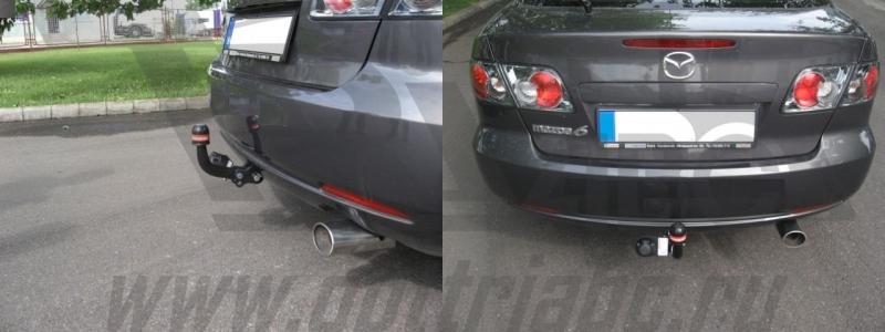 Фаркоп для Mazda (Мазда) 6 lim. (2002-2008), BOSAL, 4522A