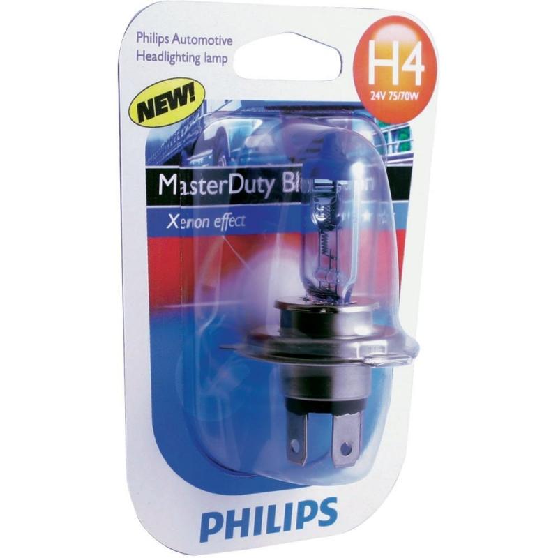 """Лампа """"BlueVision"""", 24 В, H4, PHILIPS, 53275328"""