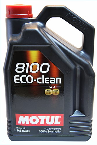 Моторное масло MOTUL 8100 Eco-clean, 0W-30, 5л, 102889