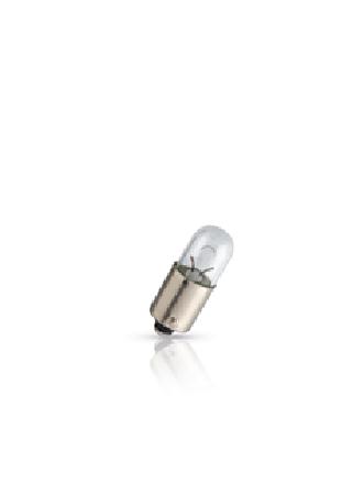 Лампа Philips Vision, 12 В, 4 Вт, T4W, BA9S, 12929CP