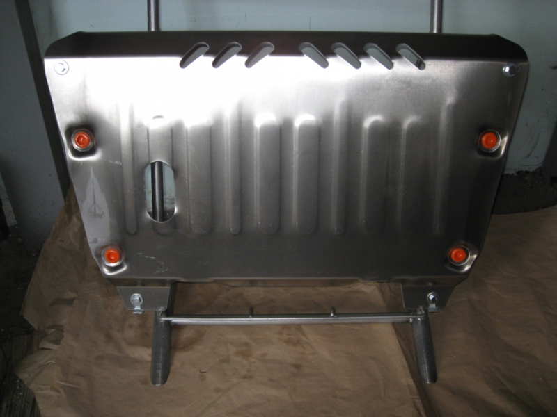 Защита картера двигателя и кпп Toyota Camry (Тойота Камри) 2.4 (V-2,4 2006-2011) (Сталь 1,8 мм), 092