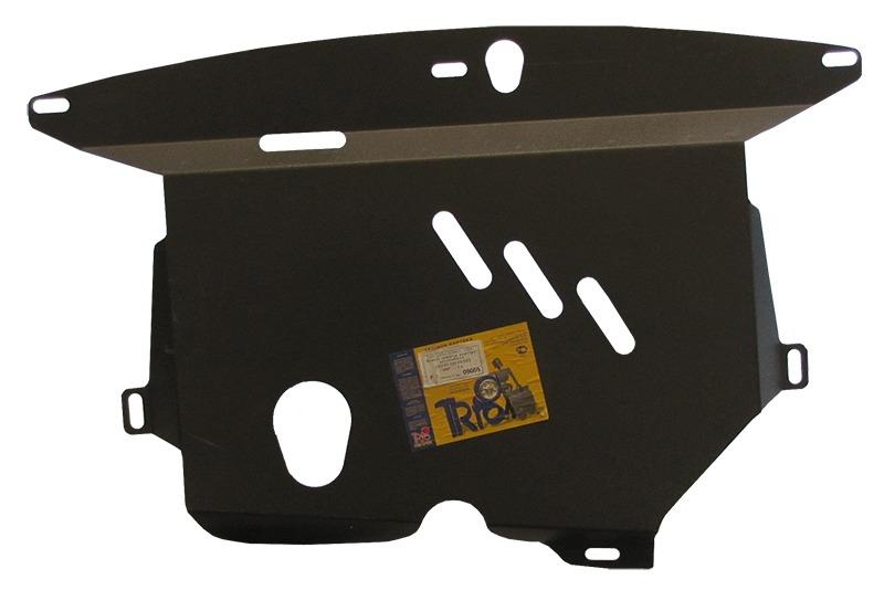 Защита картера двигателя, КПП Chery QQ V= все (сталь 2 мм), MOTODOR09005