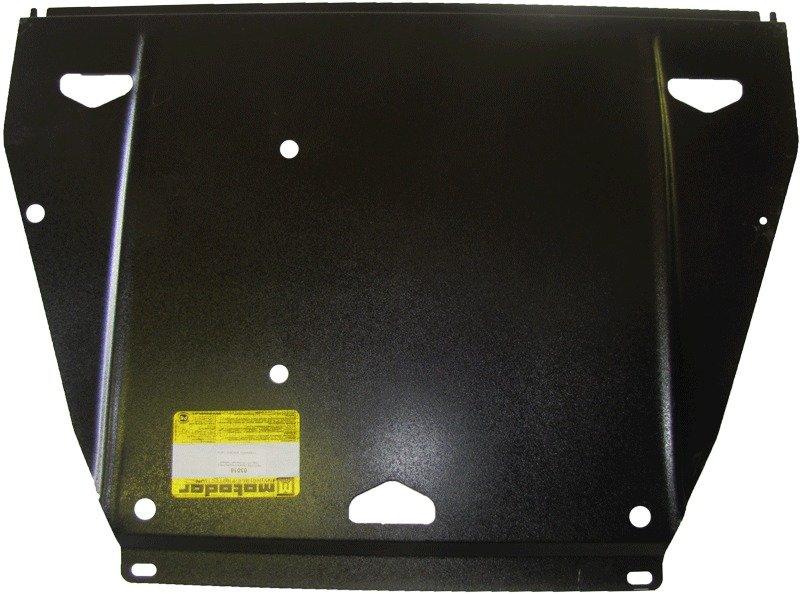 Защита картера двигателя, КПП, ПДФ, РК Chevrolet Trail Blazer (GMT800) 2002-2013 V=4,2 (сталь 2 мм),