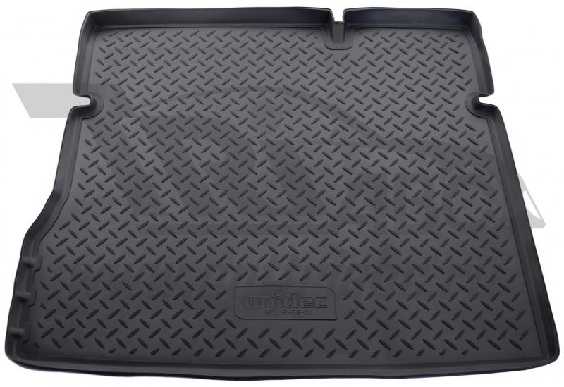 Коврик багажника для Renault Duster (Рено Дастер) 2WD (2011-2015) / Nissan Terrano 2WD (2014-), NPLP
