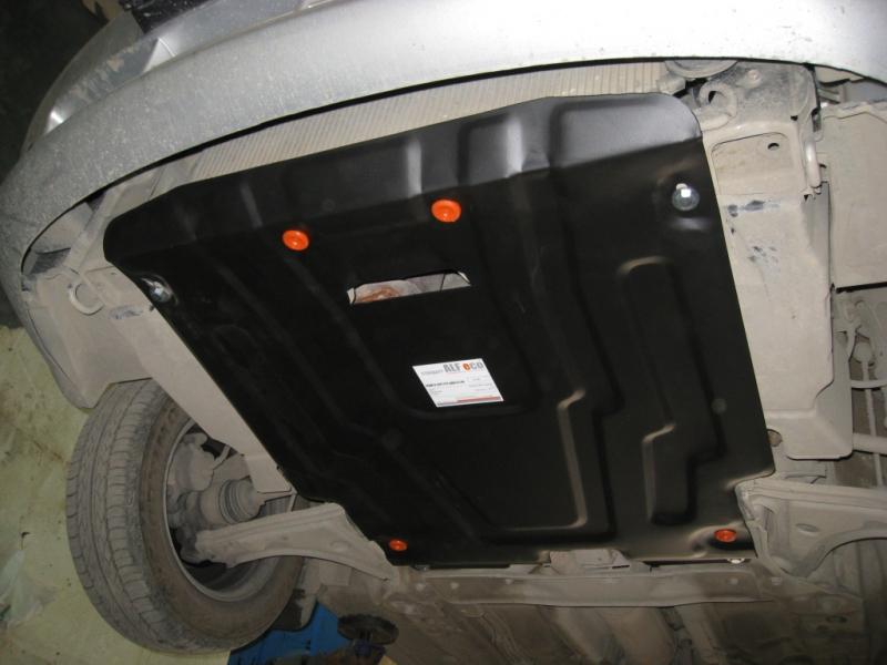 Защита картера двигателя и кпп Chevrolet Lacetti (Шевроле Лачети)V-все(2004-2013)/Ravon Gentra V-все