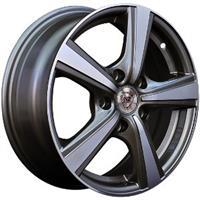 Колесный диск NZ SH629 5.5x13/4x98 D58.6 ET35 насыщенный темно-серый полностью полированный (GMF)