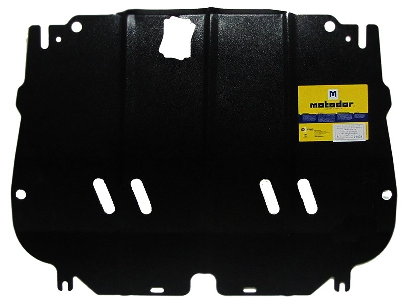 Защита картера двигателя, КПП Nissan Qashqai 2006-2014 V= все (сталь 2 мм), MOTODOR01434