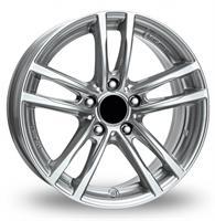 Колесный диск Rial RIAL X10 7.5x17/5x120 D66.5 ET32 sterling-silver