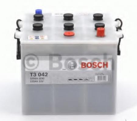 Аккумуляторная батарея Bosch T3, 12 В, 125 А/ч, 720 А, 0092T30420