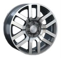 Колесный диск Ls Replica NS17 7.5x18/5x114,3 D60.1 ET50 серый глянец, полированнные спицы и обод (GM