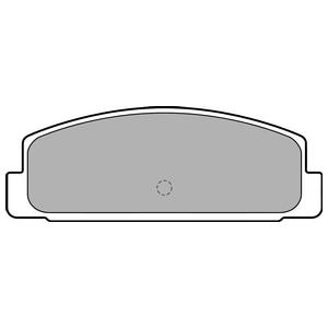 Колодки дисковые, DELPHI, LP1766
