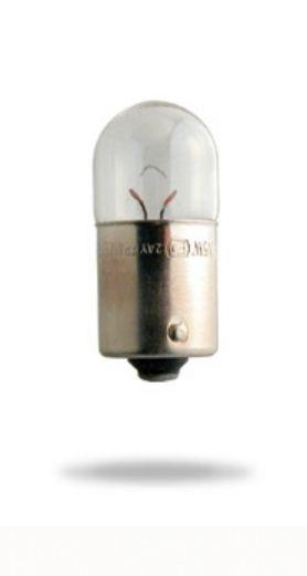 Лампа 24 В, 10 Вт, R10W, BA15s, NARVA, 17326