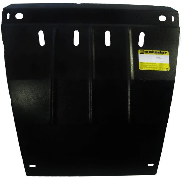 Защита картера двигателя, КПП Daewoo Nubira 1997-2003 V=2,0 (сталь 2 мм), MOTODOR00504