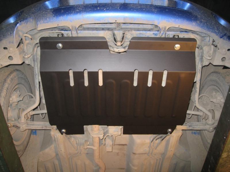 Защита картера двигателя и кпп Suzuki Swift (V-все, 2011-) штамп. (Сталь 1,8 мм), 12709C2