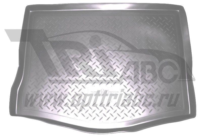 Коврик багажника для Nissan Tiida (C12) Хэтчбек (2015-) Серый, NPA00T61770GREY