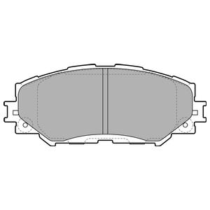 Колодки дисковые, DELPHI, LP2002