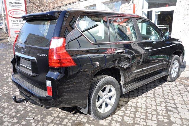 Фаркоп для Toyota Land Cruiser (Тойота Ленд Круизер) Prado150 (2010-)/Lexus GX 460 (01/2010-2014) .,