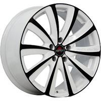Колесный диск Yokatta MODEL-22 8x18/5x112 D56.6 ET39 белый +черный (W+B)