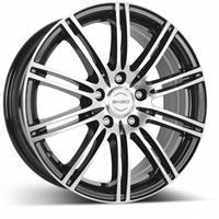 Колесный диск Enzo 103 dark 7x16/5x114,3 D71.6 ET48 черный полированный (BKF/P)