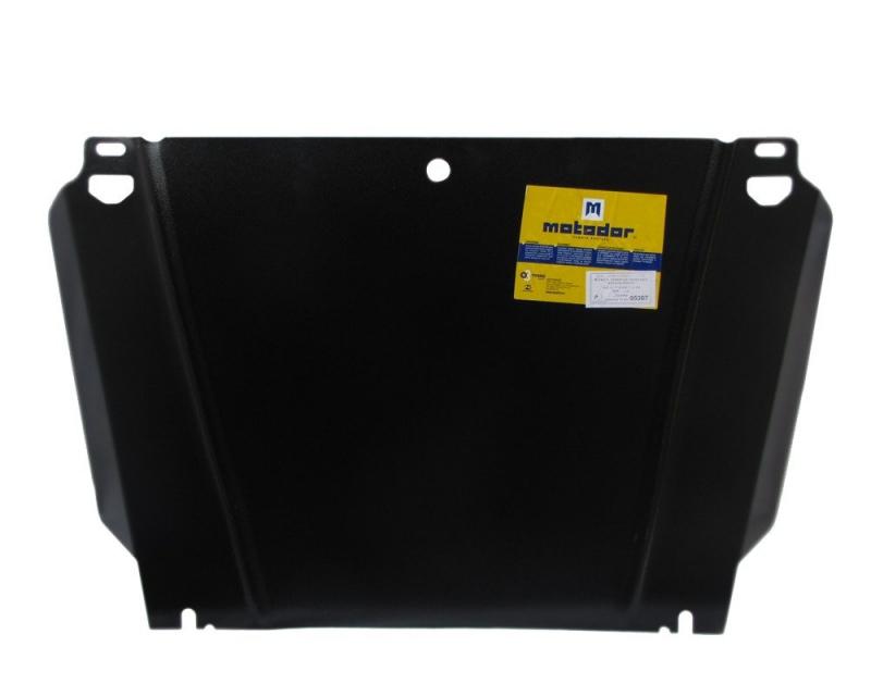 Защита картера двигателя, КПП Tagaz Tager 2008- V=2,9D (сталь 2 мм), MOTODOR05307