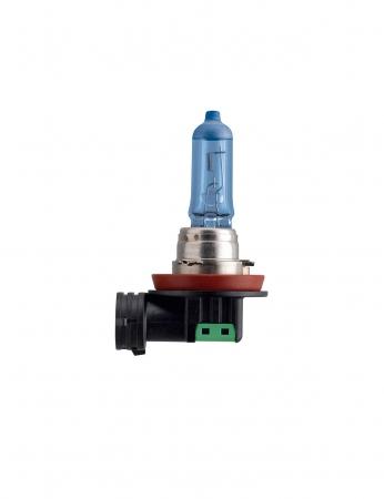 Лампа галогенная Philips Blue Vision Ultra, 12 В, 55 Вт, H11, PGJ19-2, 12362BVUB1
