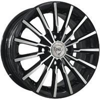 Колесный диск NZ SH647 6.5x16/5x105 D66.6 ET39 черный полностью полированный (BKF)