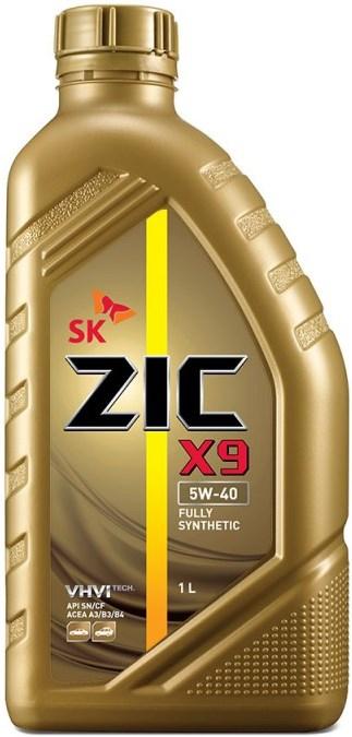 Масло моторное ZIC X9 5W-40, 1л, 132613