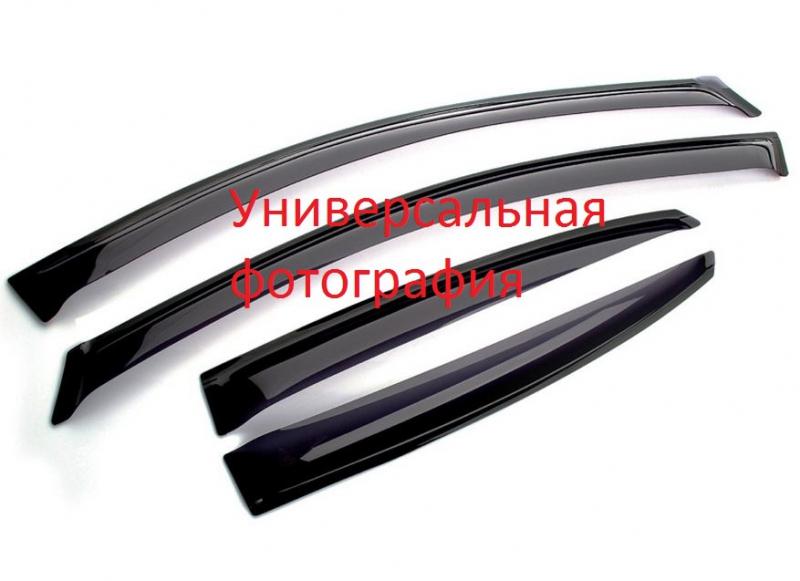 Дефлекторы окон Kia Rio (Киа Рио) Седан (2011-), DKR003