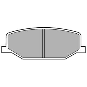 Колодки дисковые, DELPHI, LP527