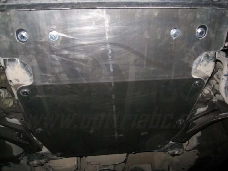 Защита картера двигателя VW Touareg (Туарег) V-все (2002-2010-)/Porsche Cayenne V-все (2002-2010-)(с
