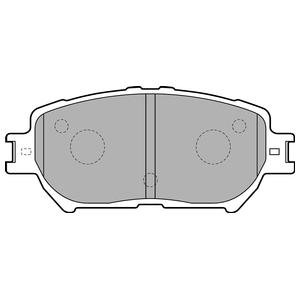 Колодки дисковые, DELPHI, LP1738