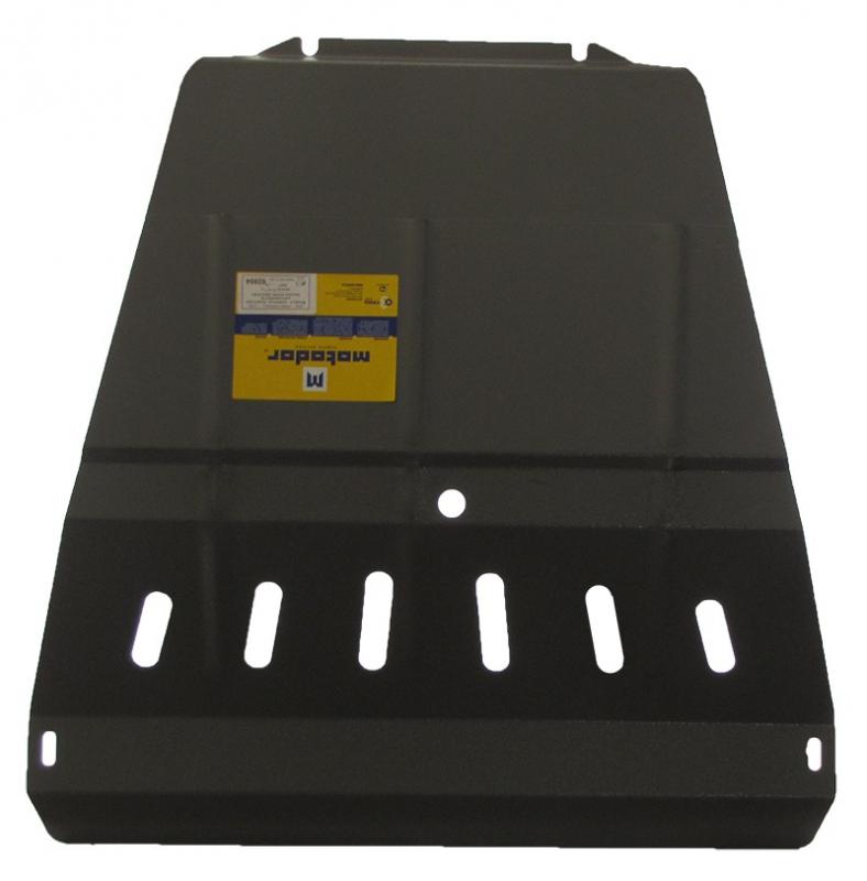 Защита картера двигателя, КПП, радиатора Ssang Yong Rexton III 2012- V= все (сталь 2 мм), MOTODOR028