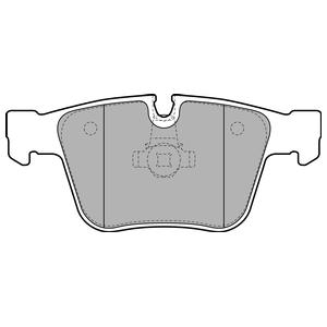 Колодки дисковые, DELPHI, LP2115