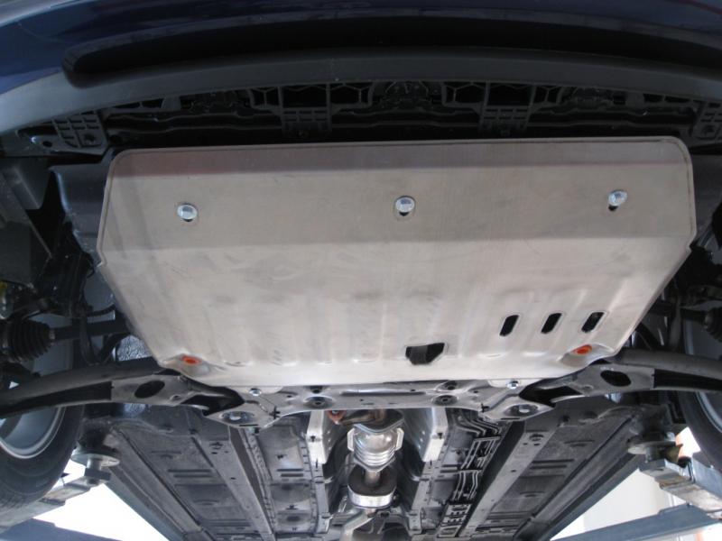 Защита картера двигателя и кпп Kia Venga (V-все, 2011-2015-) (Сталь 1,8 мм), 05705C2