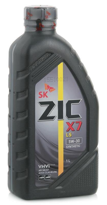 Моторное масло ZIC 0W, 0W-20, 1л, 137208