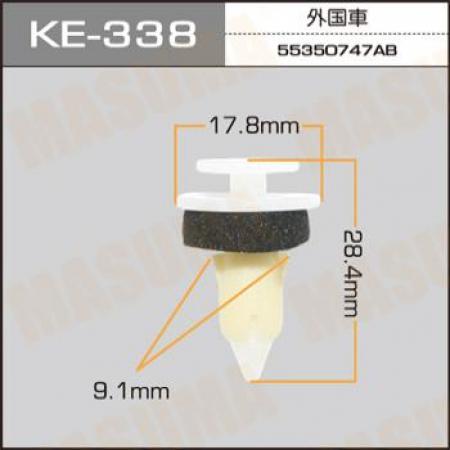 Клипса автомобильная (автокрепеж) MASUMA, KE338