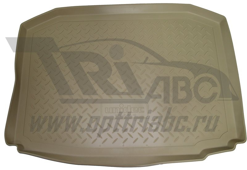 Коврик багажника для Kia Sorento Prime (2015-) (7 мест) Бежевый, NPA00T43652BEIGE