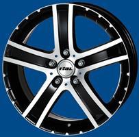 Колесный диск Rial Porto 7.5x17/5x114,3 D70.1 ET47 черный