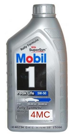 Моторное масло Mobil 1, 5W-50, 1л, 152562
