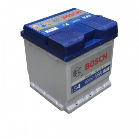 Аккумуляторная батарея Bosch S4 Silver, 12 В, 44 А/ч, 420 А, 0092S40001