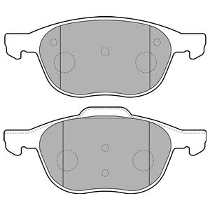 Колодки дисковые, DELPHI, LP1869