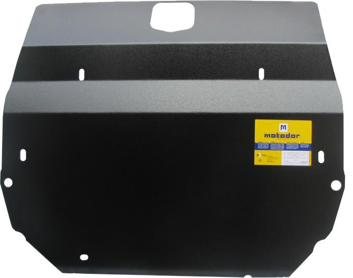 Защита картера двигателя, КПП Land Rover Freelander II 2006- V=2,2 TD4 (сталь 3 мм), MOTODOR13202