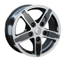 Колесный диск LS Wheels 128 6.5x16/5x139,7 D98.5 ET40 серый полированный (GMF)