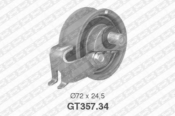 NTN-SNR Ролик натяжной ремня ГРМ, SNR, GT35734
