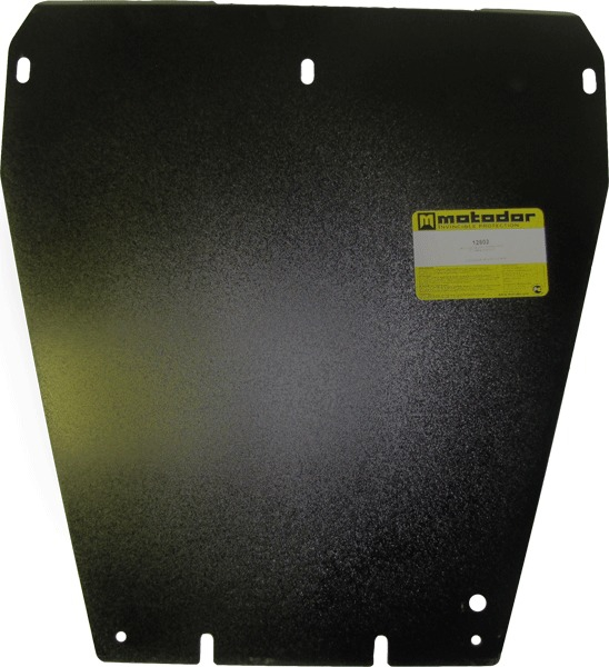 Защита картера двигателя, ПДФ, КПП, радиатора Ssang Yong Kyron 2005- V= все (сталь 3 мм), MOTODOR128